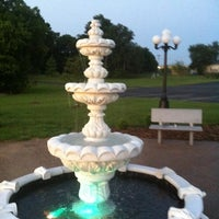 Photo taken at The Fountain At UAW by Donna S. on 7/10/2011