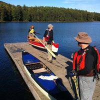 Photo taken at Algonquin Outfitters - Lake Opeongo by Randy M. on 9/17/2011