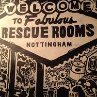 Снимок сделан в The Rescue Rooms пользователем Bryan B. 12/28/2011