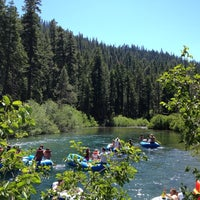 Photo taken at Swimming Hole On The Truckee River by Jonathan C. on 7/2/2012