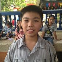 Photo taken at วัดทองสุทธาราม by Pupae A. on 4/14/2012