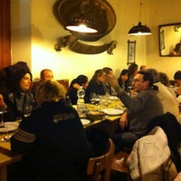 Photo taken at Trattoria da Mirella by Claudia L. on 2/11/2012