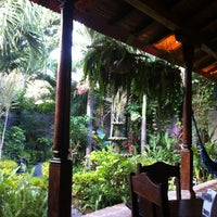 Photo taken at The Garden Café by Pausanias2c O. on 7/16/2012