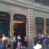 Photo taken at Prada by Cesar T. on 5/26/2012