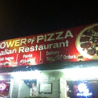 Photo taken at Tower of Pizza by Peter A. on 9/26/2011