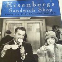 Photo taken at Eisenberg's Sandwich Shop by Clara K. on 3/26/2012