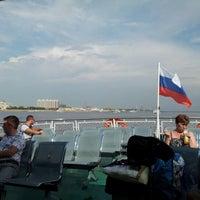 Photo taken at Теплоход Амур by Сергей Л. on 7/13/2012