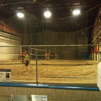 Photo taken at Spike's Indoor Beach Volleyball by Al A. on 10/15/2011