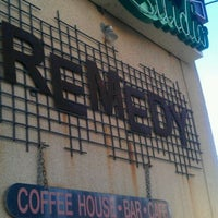 Photo taken at Remedy Cafe by Ashley G. on 10/23/2011