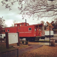 Photo taken at W&OD trail Vienna caboose by Owen T. on 11/23/2011