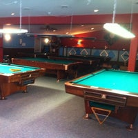 Photo taken at King Smiley Billiards by Patrick T. on 5/19/2012