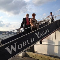 Photo taken at World Yacht by Frank C. on 8/11/2012