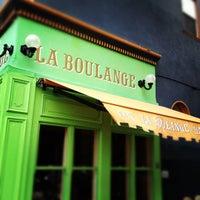 Photo taken at La Boulangerie de San Francisco by Justin Y. on 5/3/2012