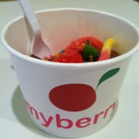Photo taken at MyBerry Frozen Yogurt by Katie O. on 6/27/2012