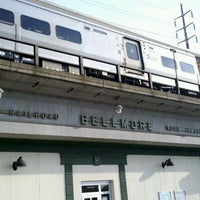 Photo taken at LIRR - Bellmore Station by Matthew w. on 8/25/2012