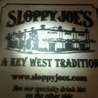 Photo taken at Sloppy Joe's Bar by Cyndy M. on 11/28/2011