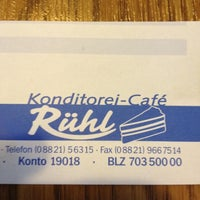 Photo taken at Konditorei-cafe Ruhl by Beth S. on 1/28/2012
