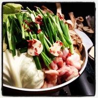 1/2/2012にYokoが博多もつ鍋やまや 名古屋栄店で撮った写真