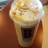 Photo taken at BIGGBY COFFEE by Tiffany L. on 8/7/2012