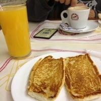 Photo taken at Padaria Santa Marcelina by Priscila I. on 3/30/2012