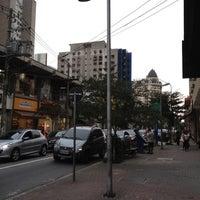 Photo taken at Rua João Cachoeira by Julianne C F. on 6/18/2012
