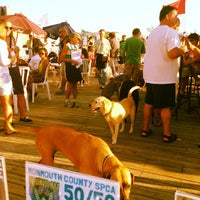 Photo taken at Wonder Bar by Monmouth County SPCA on 8/16/2012