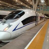 Photo taken at Shanghai Hongqiao Railway Station by Shereen H. on 7/6/2012
