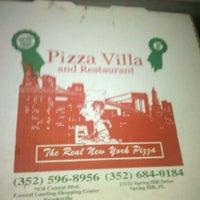 Photo taken at Pizza Villa by Natalie L. on 8/20/2011
