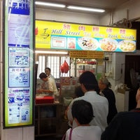 Photo taken at Hill Street Tai Hwa Pork Noodle by gerard t. on 4/15/2011
