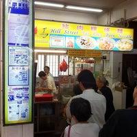 Photo prise au Hill Street Tai Hwa Pork Noodle 吊桥头大华猪肉粿条 par gerard t. le4/15/2011