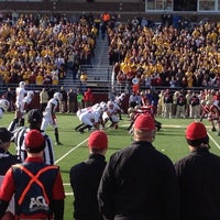 Photo taken at Alumni Stadium by Mike M. on 11/12/2011