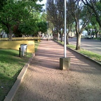 Photo taken at Plaza Falucho by Juan Pablo M. on 10/25/2011