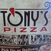 Photo taken at Tony's Pizza by Matthew C. on 1/20/2012