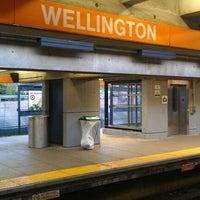 Photo taken at MBTA Wellington Station by Jake S. on 4/24/2012