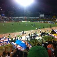 Photo taken at Estadio Alfonso López by Jorge D. on 2/13/2011