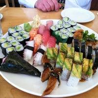 Photo taken at Sushi Zanmai by Lynn B. on 4/27/2012