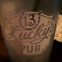 Photo taken at Lucky's 13 Pub by J C. on 12/31/2011