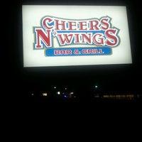 Photo taken at Cheers N Wings by Darin H. on 11/12/2011