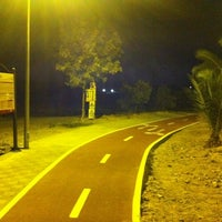 Photo taken at Carril-bici Olivares-Salteras by Juanan R. on 9/13/2011