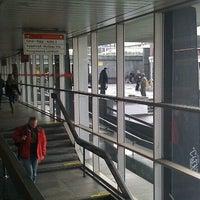 Photo taken at Metro =C= Vyšehrad by Petr H. on 1/20/2012