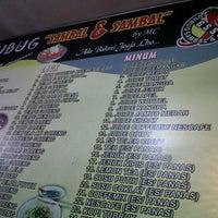 Photo taken at Gubug Sambal & Sambal by Susmawan D. on 9/19/2011