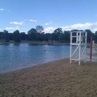 Photo taken at Kewanis Swim Pond by VazDrae L. on 8/10/2011