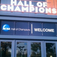 Photo taken at NCAA Hall of Champions by Rogie Rog's B. on 10/22/2011