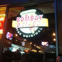 Photo taken at Bombay Pizza Co. by Nathan on 7/23/2011