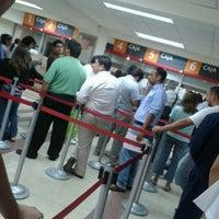 Photo taken at BancoEstado by Hugo E. on 1/10/2012