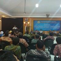 Photo taken at Gedung Rektorat Universitas Trunojoyo by Arif S. on 5/12/2012