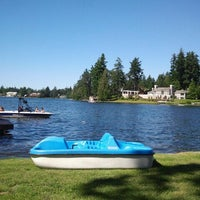 Photo taken at Steilacoom Lake by Allysson A. on 7/4/2012