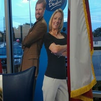 Photo taken at Park Cities Ford of Dallas by Meredith L. on 6/12/2012