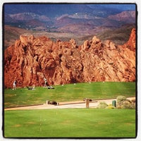 Photo taken at Sky Mountain Golf Course by Jeff F. on 9/9/2012