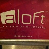 Photo taken at Aloft Richmond West by Troy B. on 12/8/2011